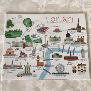 London Art Print NWT